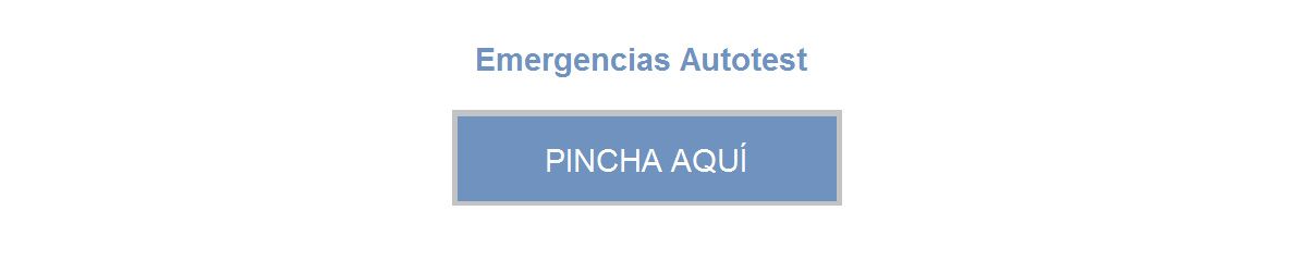 emergencias Autotest.tecoem
